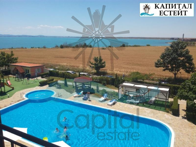 Front-line studio apartment for sale in Ravda