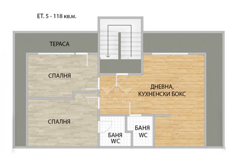 Продажба 3-стаен гр. София - Банишора 118m²