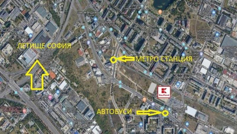Продажба Спорт и фитнес центрове гр. София - Дружба 2 1225m²