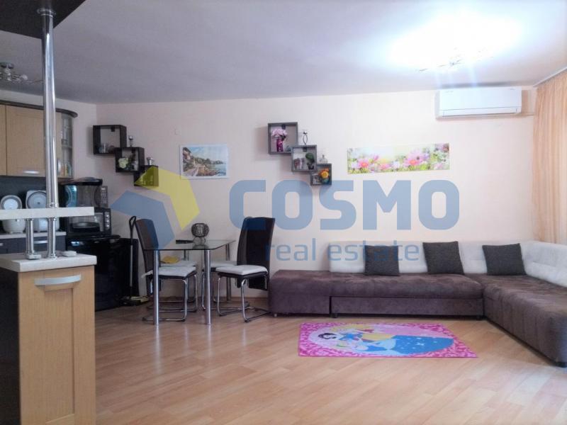 3-стаен, Бургас,<br />Лазур, 80 m², 91 000 €<br /><label>продава</label>