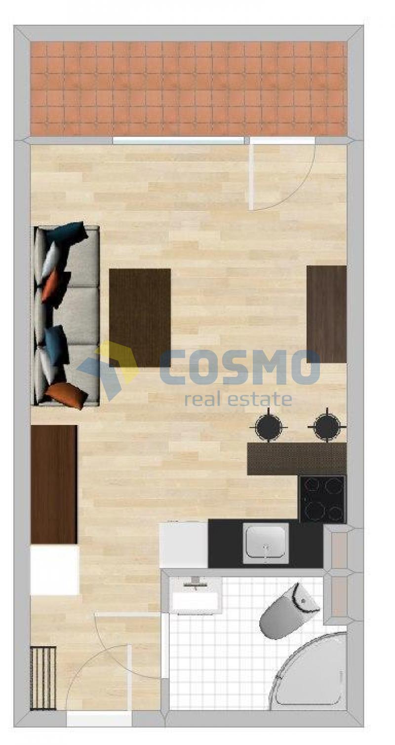 1-комнатная, Бургас,<br />Сарафово, 38 m², 28 500 €<br /><label>продажа</label>