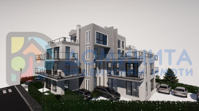 Двустаен апартамент в бутикова сграда, Ахтопол